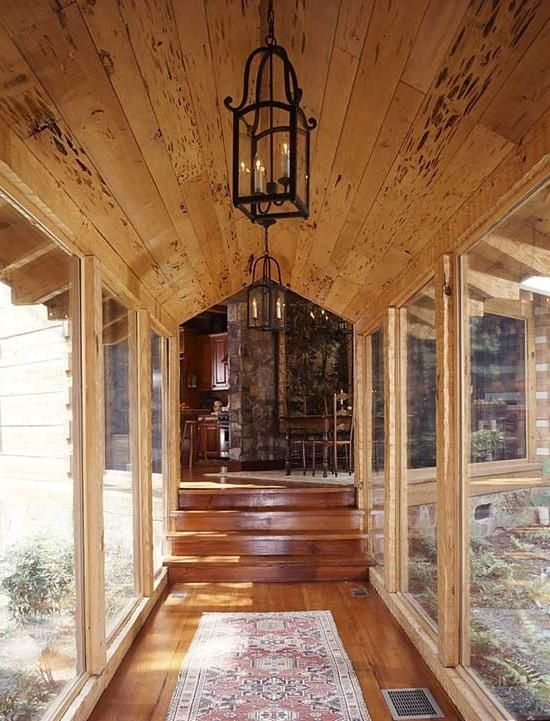 Garage to house breezeway photos on pinterest discover for Cottage house plans with porte cochere