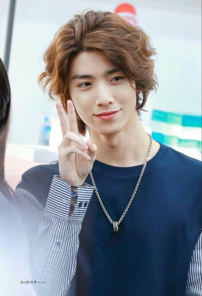 Sf9 Hwiyoung   Sf9, Sf9 taeyang, Long hair styles