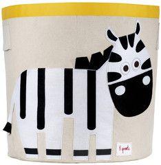 Machiko - a boutique for kids - Zebra Storage Toy Bin By 3 Sprouts, $49.95 (http://www.machikobaby.com.au/products/zebra-storage-toy-bin-by-3-sprouts.html)