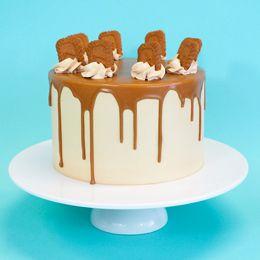 (biscoff cake) looks so scrummy :D <3