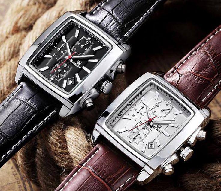 Cronógrafo Megir de diseño contemporáneo con calendario y 3 sub-diales. A solo 1.280 pesos. #swisswatch #switzerland #thebillionairesclub #thewristwatcher #time #timegeeks #timepiece #watch #watchaddict #watchcollector #watches #watchesofinstagram #watchfam #watchfan #watchmaking #watchmania #watchnerd #watchoftheday #watchporn #watchuseek #whatchs #womw #wristcandy #wristgame #wristwatch #wwatches #dailywatchfix #paneraicentral #watchfy #watchanish #wwatches