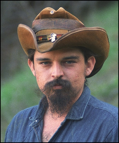 1969: Ron 'Pigpen' McKernan  This portrait, taken in Pigpen's backyard in Novato, California, is currently on display at the Rock and Roll Hall of Fame's Grateful Dead exhibition.