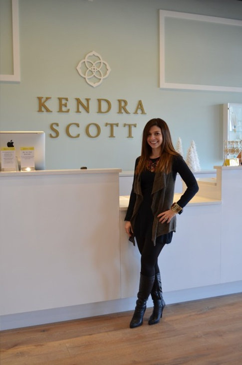 At the new @Kendra Henseler Henseler Henseler Scott Houston store