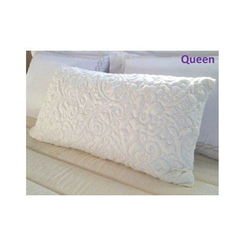 Attain Longer Periods of Deep Sleep and Rest in Comfort with This Memory Foam Pillow Infused with Cool Gel. Pillows Adapt to the Shape of Your Head Providing Neck and Shoulders with Cervical Orthopedic Support. (Queen) -- Click image for more details.