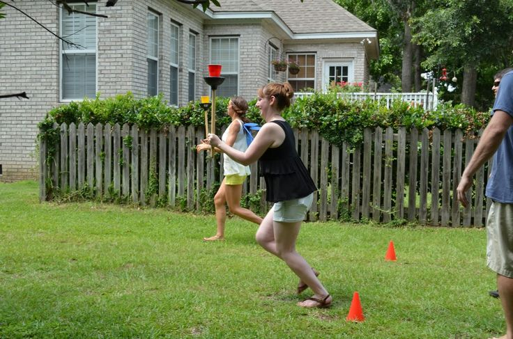 A drug dealer and sports addict with Kentucky pride and blue high heels: 3rd Annual Backyard Beer Olympics