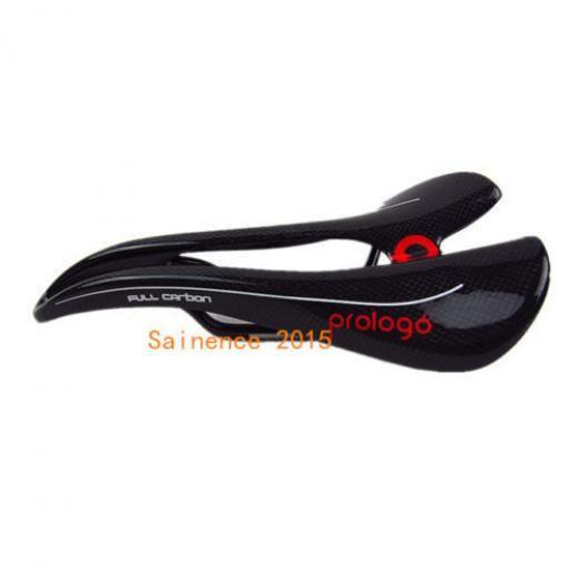 Prologo Hot Mountain Road Bike Saddle Seat Full Carbon Fiber Black Lightweight Prol489