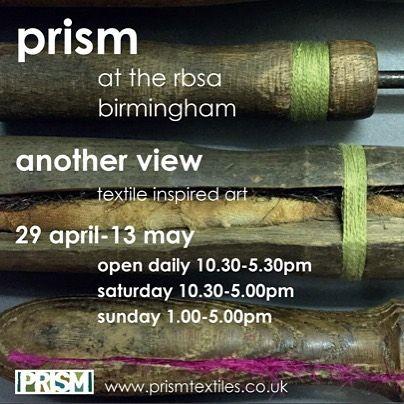 @PrismTextiles ANOTHER VIEW -  29/04 - 13/05/ 2017 @rbsagallery Birmingham : @spottedhyenas Split Traditions (mixed media) P @JonathanDredge