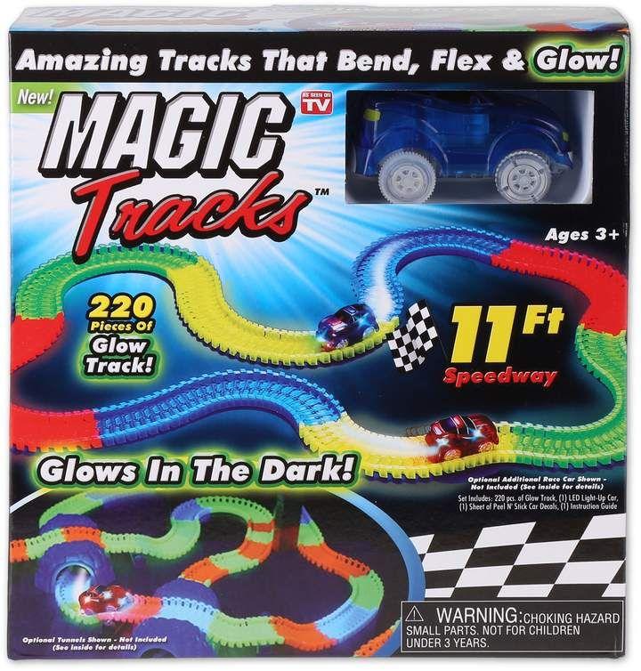 Magic Tracks 220 Piece Glowing Track Set Parts Small Yrs