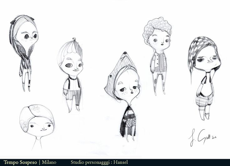 studio personaggi : Hansel