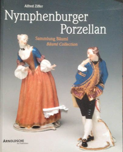 """""""Nymphenburger Porzellan..."""" Porcelain Reference Book German Language"""