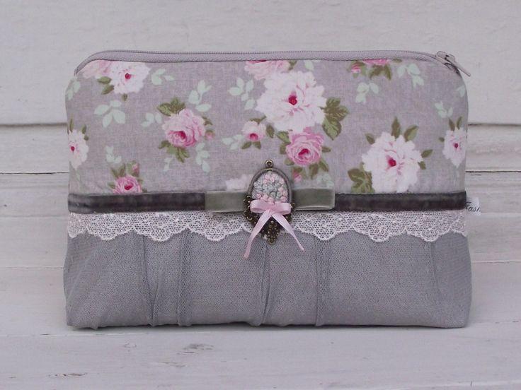 Grey beauty case