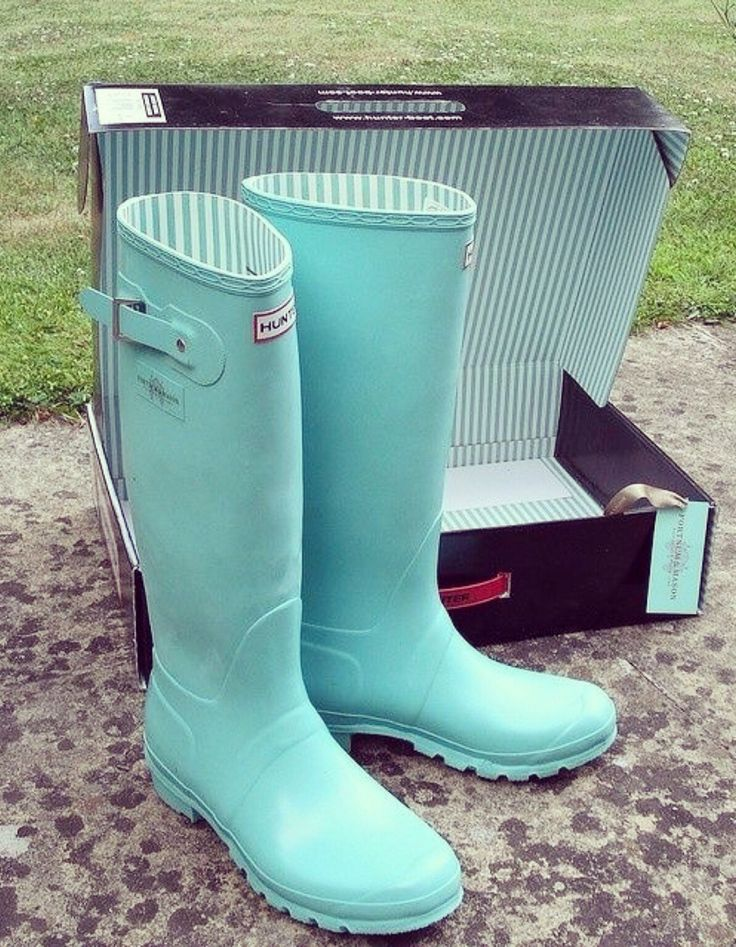 If I were ever to own a pair of rain boots why not in my favorite color