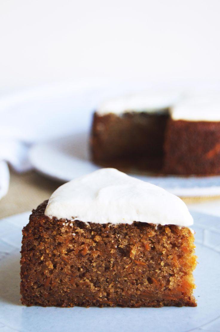 Vegan Spiced Carrot Cake (gluten free)