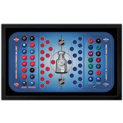 Magnetic NHL Standings Board