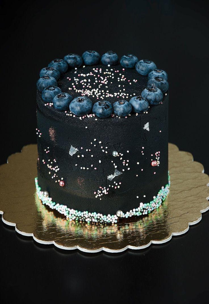 Very chocolate black cake