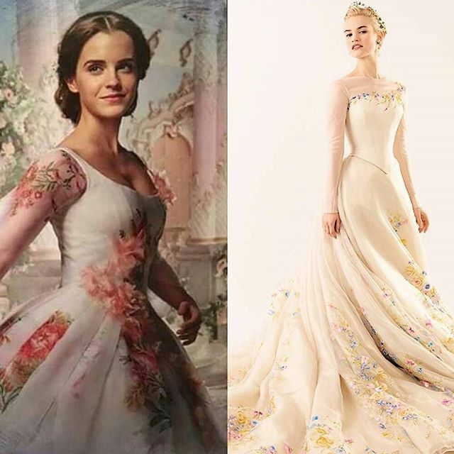 Belle And Cinderella's Wedding Gowns