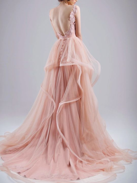 Chrystelle Atallah spring 2015 couture