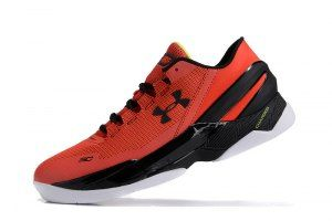 Mens Under Armour UA Curry Two Low Energy Black 1264001 984 Basketball Shoes 93cf7f03c