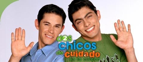 Víctor García Pérez, Raúl Sandoval, Pedro Sicard, Rafael Sánchez Navarro son protagonistas de la #telenovela Dos Chicos de Cuidado en la Ciudad!