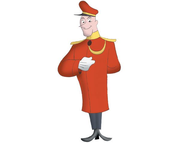 Curious George Characters - The Doorman