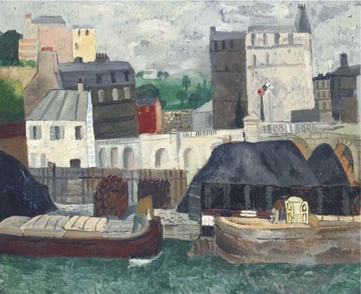 The Seine at Passy (1928) by Christopher Wood