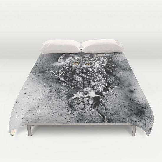 #owl #bedding #bedroom