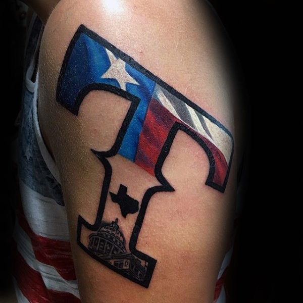 70 Texas Tattoos For Men Lone Star State Design Ideas Texas
