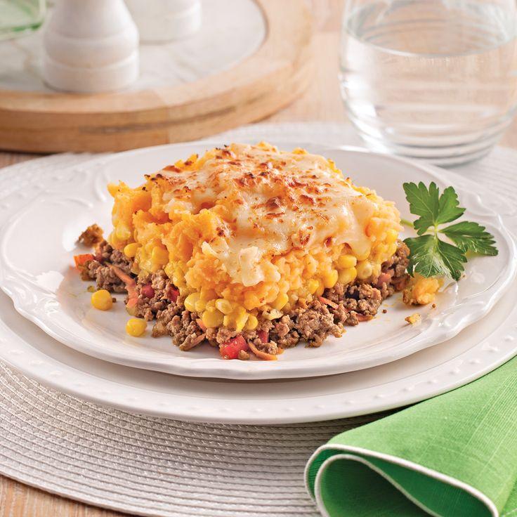 Envie de changement? Remplacez les pommes de terre par des patates douces, qui donnent un petit goût sucré à ce classique réinventé! Bien évidemment, on ajoute du cheddar ou notre fromage préféré pour faire gratiner!