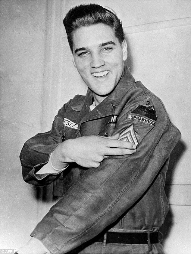 I'm too sexy: Stationed on an army base in Germany near the Czech border in December 1958, beautiful young girls sought out Elvis's company and his bed #elvispresley
