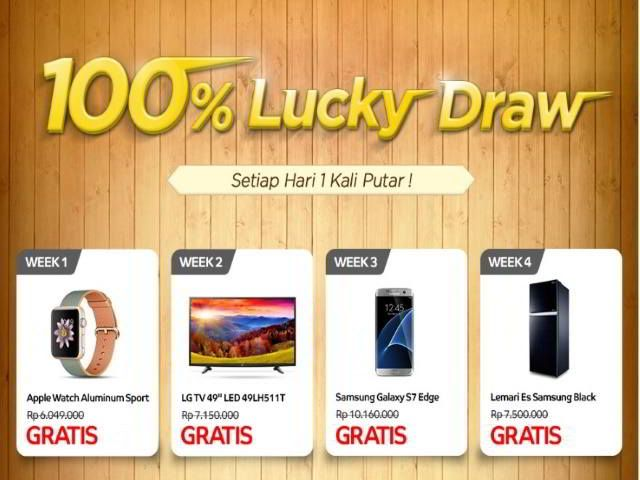 Promo Elevenia 100% Lucky Draw Berhadiah Samsung Galaxy S7 Edge - Hai sobat Mister Kuis! Sudah mengikuti promo berhadiah dari Elevenia mengenai promo