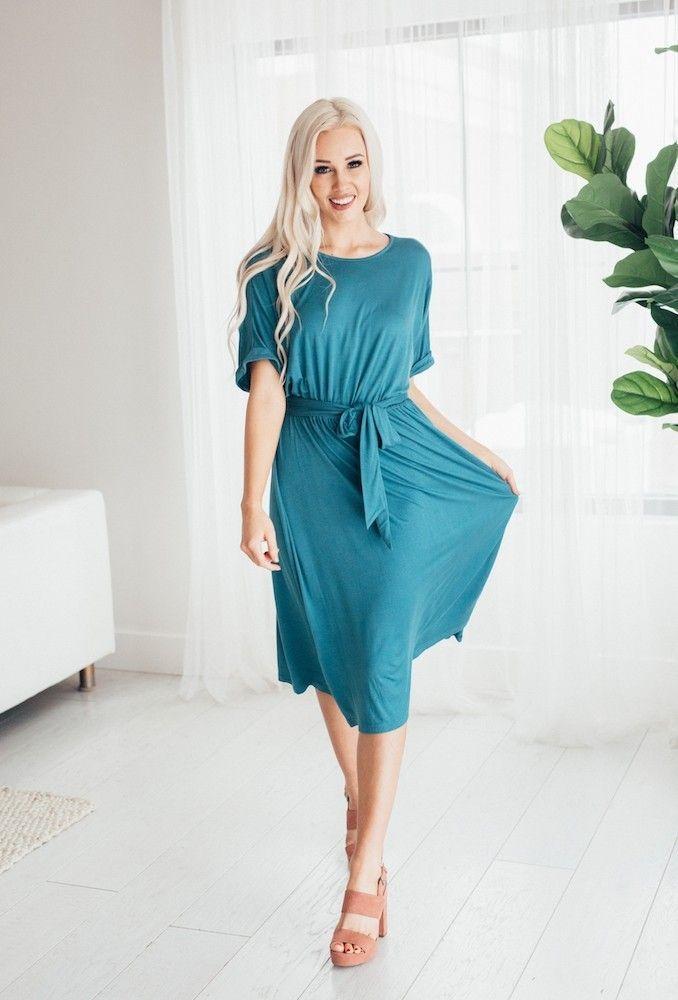 Cora Belted Dress | Brickyard Buffalo | Daily Boutique Deals