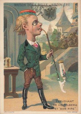Lo studente di Heidelberg e la sua pipa, 1884-90