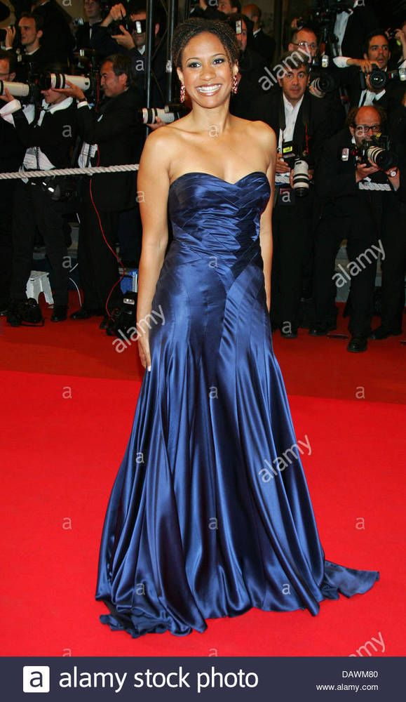 6307d690fd59 Max Azria ATELIER Dress Blue GOWN celebrity collectible WORN BY Tracie  Thoms #MaxAzria #MaxiDress #Formal