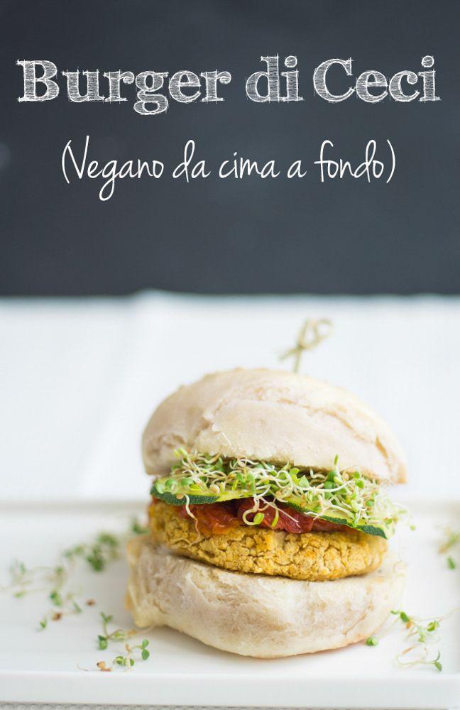 Burger Vegano (da cima a fondo!) # 1