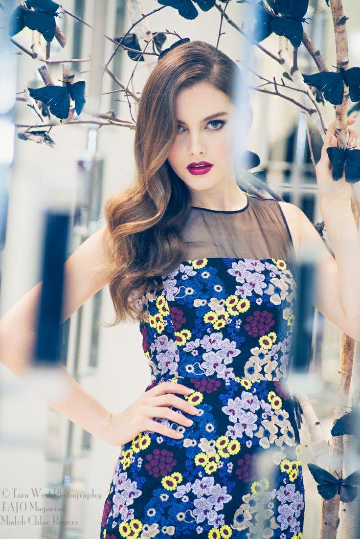 Model Chloe Rogers  Tara West Photography For FAJO Magazine