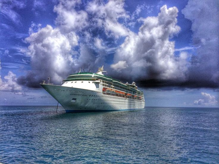 Royal Caribbean's Enchantment of the Seas sailing from Port Canaveral, just an hour from Disney World!!