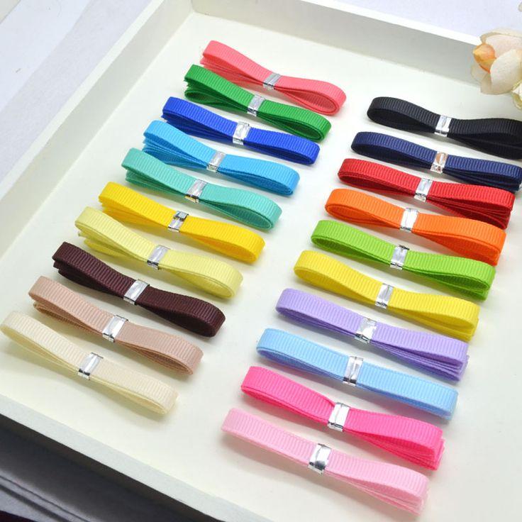 6 мм x 1 м смешивают 10 простые цвета ребра ремня ленты комплект для DIY ювелирные изделия ручной работы декорации -
