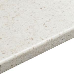 White Cashmere   Laminate Round Edge Worktops   Kitchen Worktops   Kitchen   Departments   DIY at B&Q