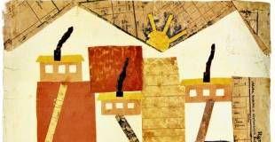 KZ. Utroligt nok frembragte børn i de nazistiske koncentrationslejre også kunst. Billederne på denne side er fra lejren Theresienstadt, hvor flere kunstlærere smuglede tegnemateriale ind. De danske jøder var i samme lejr, der nærmest - trods den kunstneriske opblomstring - var den sikre død for børn. Af 15.000 børn under 15 år overlevede færre end 100. - Foto: Tegning fra katalog