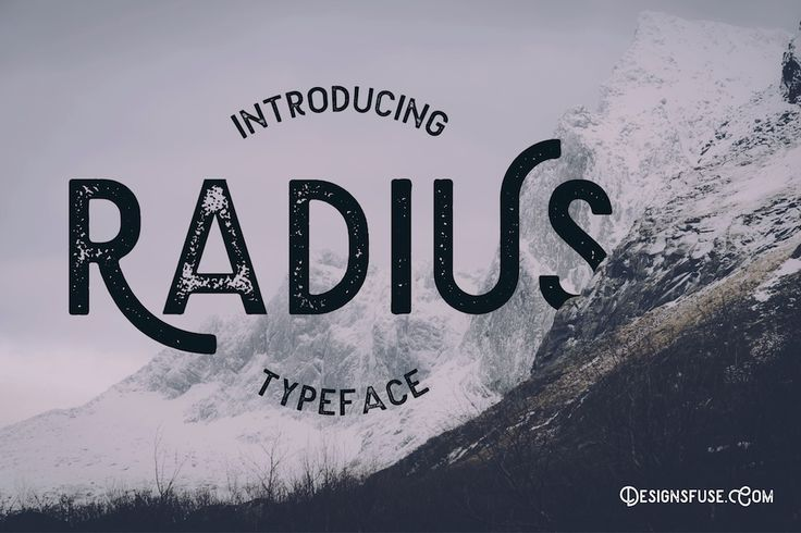 File Name Radius Typeface #free #font    File Format ttf,otf   File Size 1 Mb   License Personal & Commercial Use   Author DesignsFuse Team