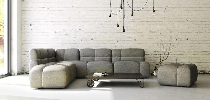 Collection of seating furniture / PACKAGE COLLECTION / design Lenka Damová & Boris Klimek / www.mminterier.cz