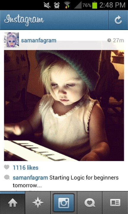 But guys look how stinkin' adorable Lux is!(: