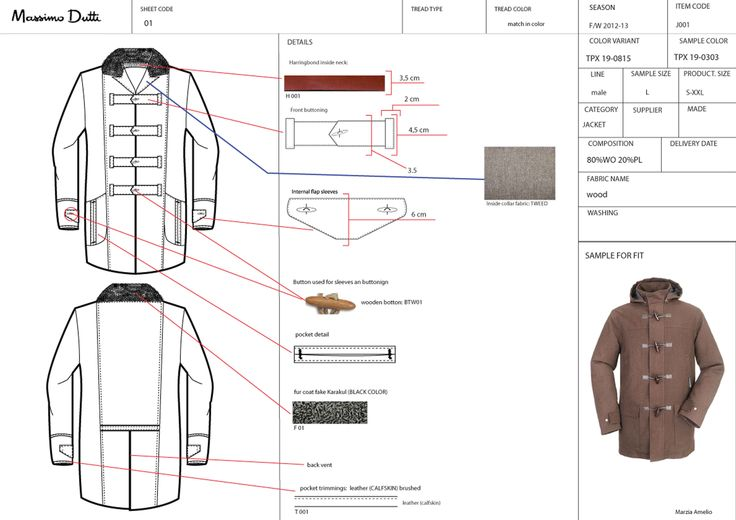 Fashion Design/ Accessories  Image - technical sheet MD.jpg - Milan Italy Italy
