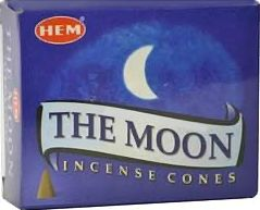 Moon HEM Cone Incense 10 Pack ICHTM