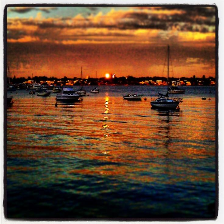Sunset Mosman Bay