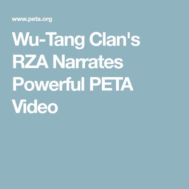 Wu-Tang Clan's RZA Narrates Powerful PETA Video