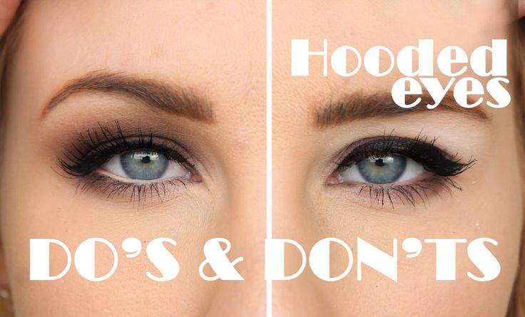 HOODED EYES - Så här trollar du bort det! DO &; DONT! - Helen Torsgården