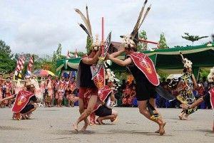 #tari perang #traditionaldance #eastkalimantan