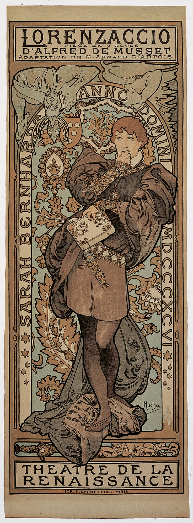 alphonse mucha art nouveau essay Irrelevancy in old age all of this and more happened to alphonse mucha (1860-  1939), an art nouveau illustrator and painter noted for his posters of idealized.