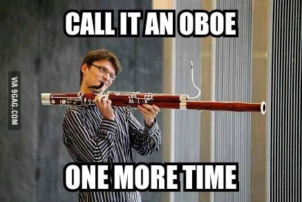 Lol...poor bassoon players